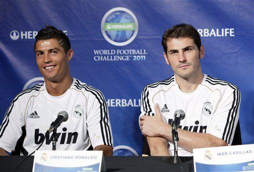 Casillas dice que Messi y Neymar sólo pasan por mala racha