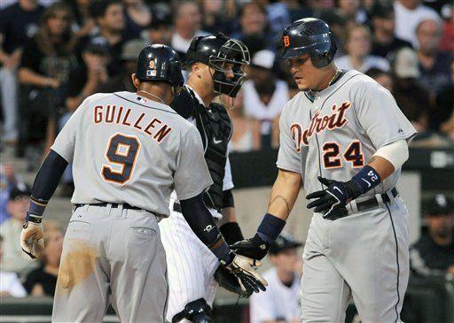MLB: Tigres 8, Medias Blancas 3