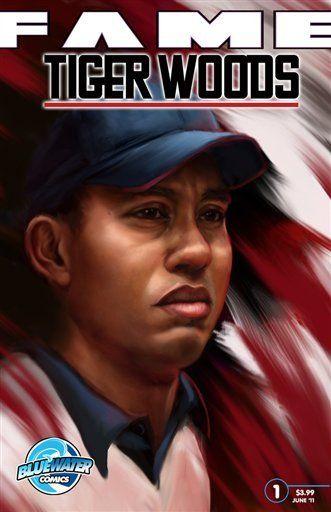Tiger Woods tendrá su vida contada en un cómic