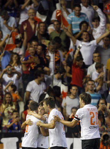 Supercopa: Valencia vence 3-2 al Madrid
