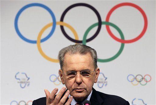 Rogge estaría encantado con candidatura de EEUU para olimpíadas