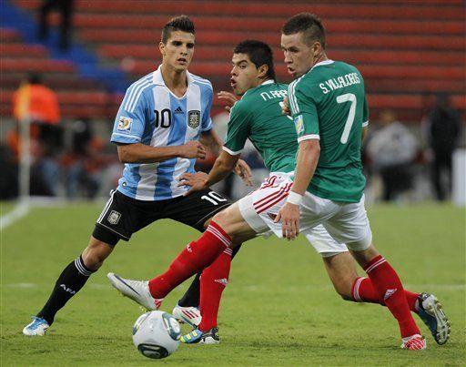 Sub20: Lamela le da la victoria 1-0 a Argentina sobre México