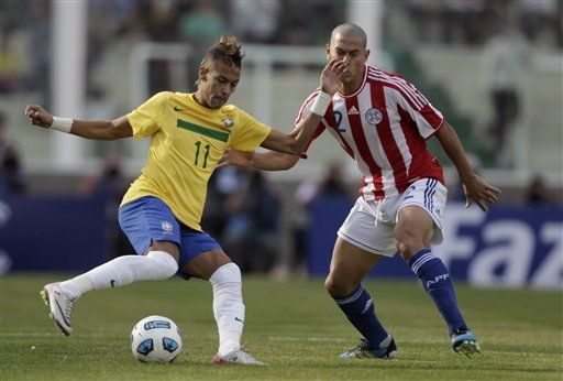 América: Brasil y Paraguay empatan 2-2