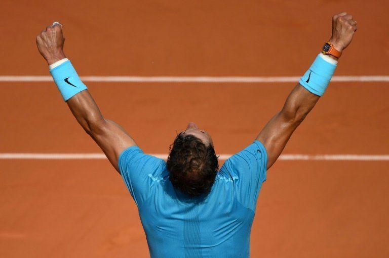 Nadal derrota a Del Potro y disputará ante Thiem su undécima final de Roland Garros