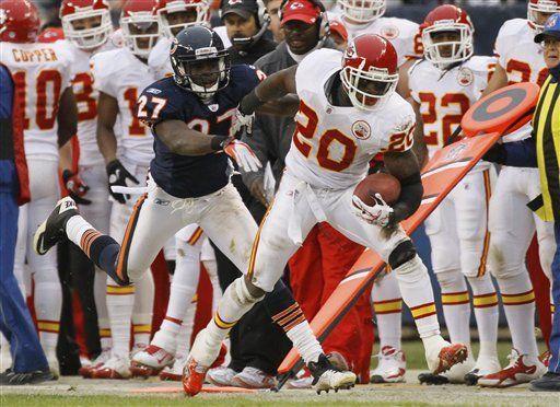 NFL: Chiefs 10, Bears 3; Palko se recupera