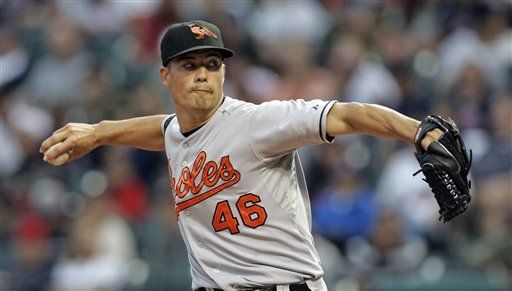 MLB: Orioles 6, Indios 1; Guthrie domina a ex equipo