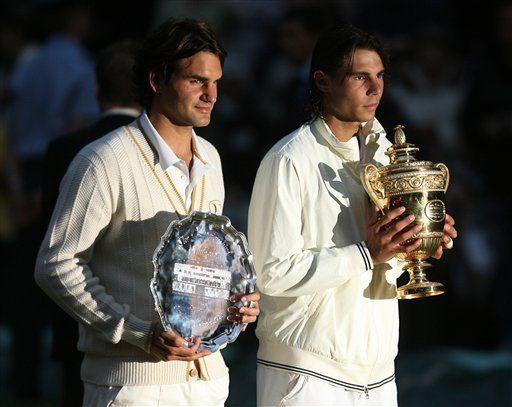 Rivalidad Nadal-Federer apenas toma calor
