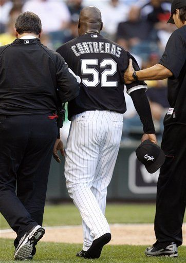 Medias Blancas sacan a Contreras de lista de lesionados
