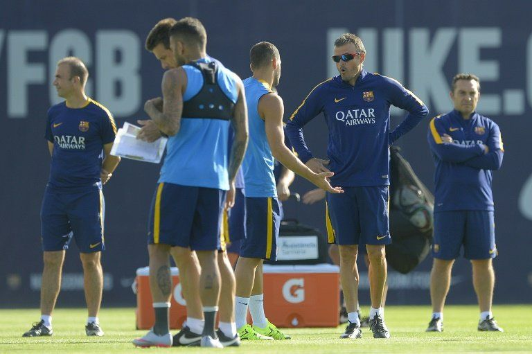 El brasileño Adriano, baja del Barcelona para la Supercopa