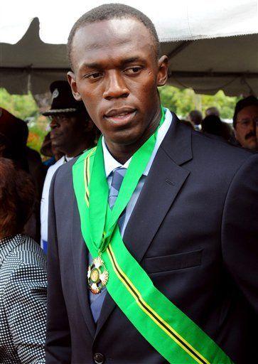 Usain Bolt recibe principal premio cívico de Jamaica
