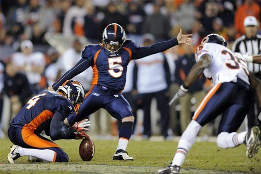 NFL: Broncos 13, Bears 10, tiempo extra; Denver gana con patada