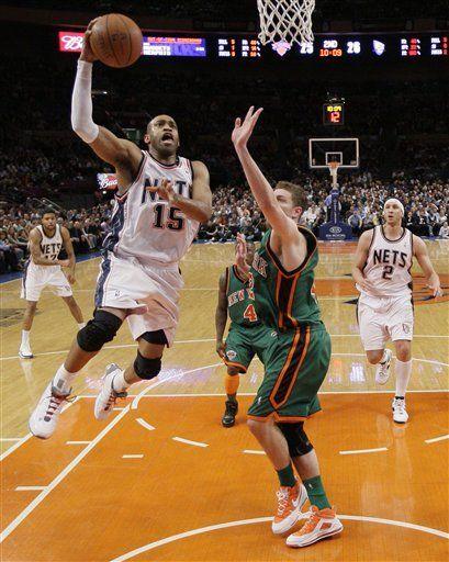 NBA: Nets 115, Knicks 89; Carter mete 29 puntos