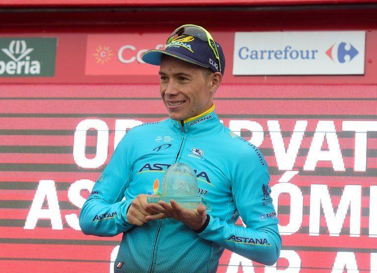 El colombiano Miguel Ángel López gana la etapa 11 de la Vuelta