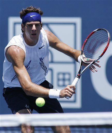 Del Potro y Roddick pasan a cuartos de final en Los Angeles