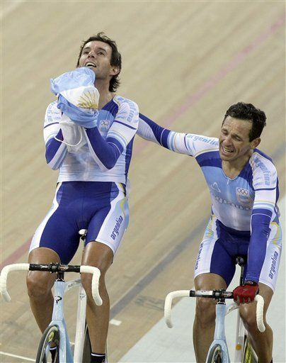 Argentinos ganan oro en madison