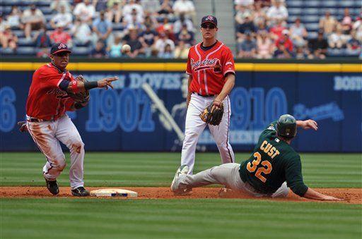 MLB: Bravos 5, Atléticos 2; Escobar decisivo con sus hits