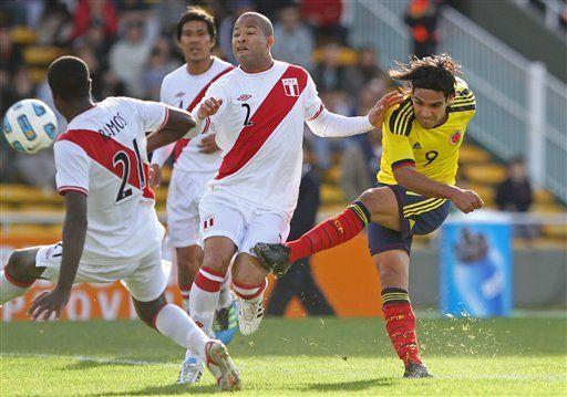 América: Colombia y Perú van a alargue; empatados 0-0