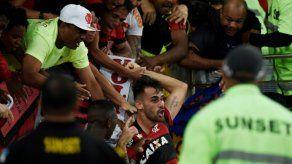 Flamengo vence 2-1 a Junior de Barranquilla en ida de semifinal de Sudamericana