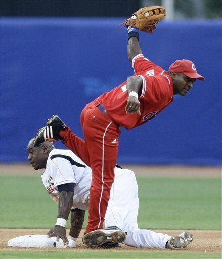Cuba aplasta a Holanda en béisbol