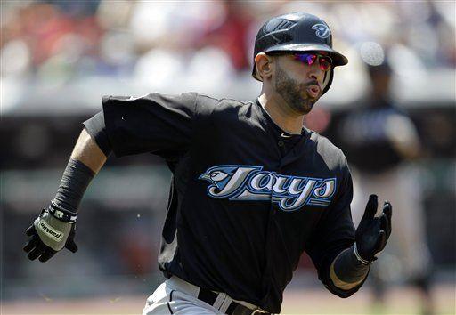 MLB: Azulejos 7, Indios 1; Bautista pega doble de dos rayas