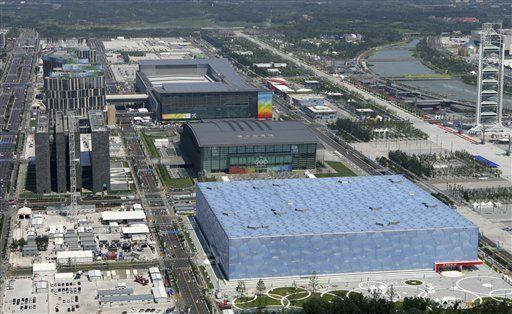 Beijing: Cielo azul y flores, de cara a comienzo de los juegos