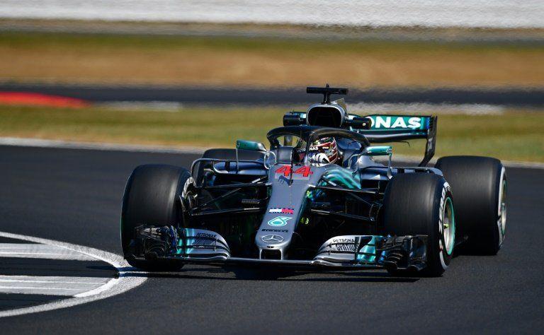 Hamilton vuelve a mandar en los últimos libres de Silverstone