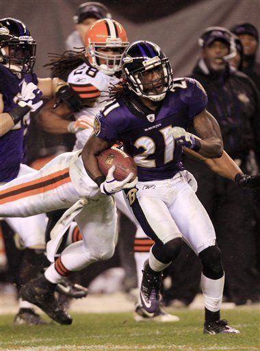 NFL: Ravens 24, Browns 10; Rice corre 204 yardas