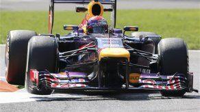 F1: Vettel el más veloz en la tercera práctica