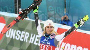 Esquiadora Shiffrin gana Eslalon de Semmering y consigue el récord de victorias en un año completo