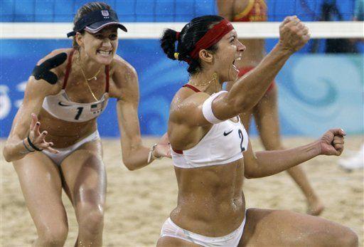 EEUU repite oro en vóley de playa; Brasil sin nada
