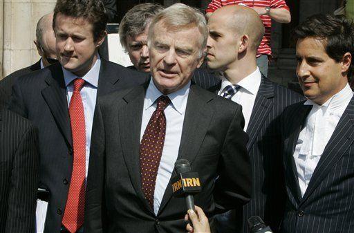 F1: Mosley gana demanda contra tabloide por historia sobre orgía