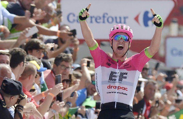 Clarke gana la quinta etapa de la Vuelta a España, Molard nuevo líder