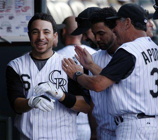 MLB: Rockies 4, Rojos 3, Quintanilla desempata en la 12ma