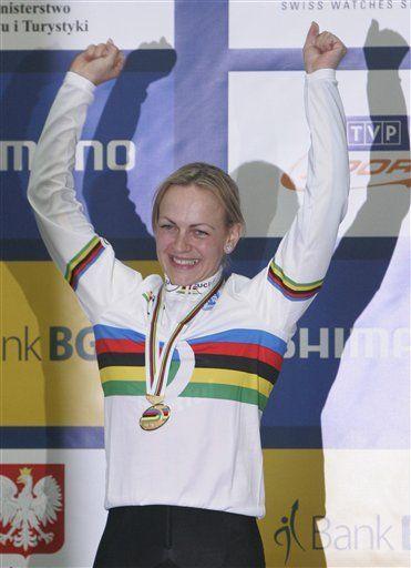 Krupeckaite fija récord mundial en 500 metros contra reloj