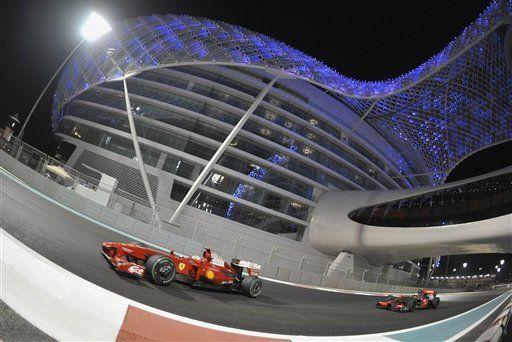 F1: Vettel lleva su espectáculo a Abu Dhabi