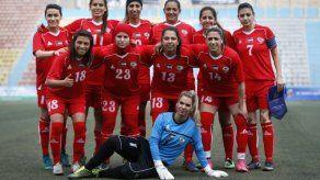 El fútbol femenino palestino