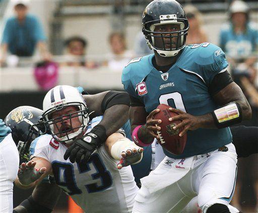 NFL: Jaguars 37, Titans 17, Garrard lanza tres touchdowns