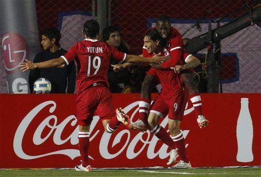 América: Perú le da un susto a Uruguay y empatan 1-1