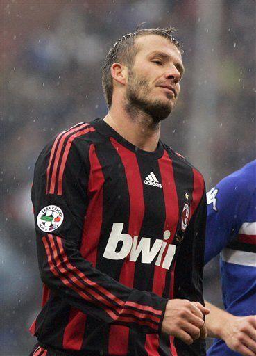 Milan cerca de un acuerdo para que Beckham se quede hasta junio