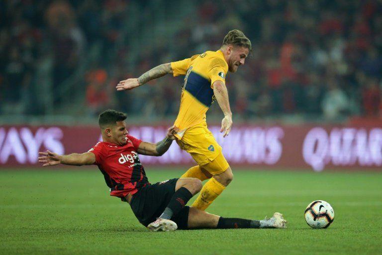 Boca e Inter sacan botín de Curitiba y Montevideo; Emelec y Cerro Porteño se ilusionan
