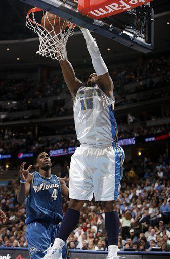 NBA: Nuggets 116, Wizards 105; Smith anota 40 puntos