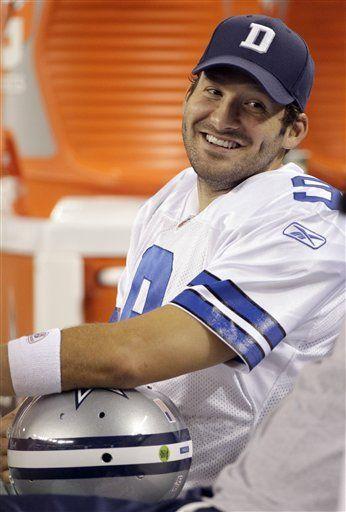 Tony Romo, fascinado por volver con los Cowboys tras lesión
