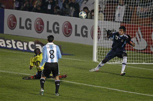 América: Colombia empata 0-0 con Argentina y acaricia el boleto