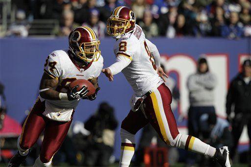 NFL: Redskins 23, Giants 10; Nueva York en peligro