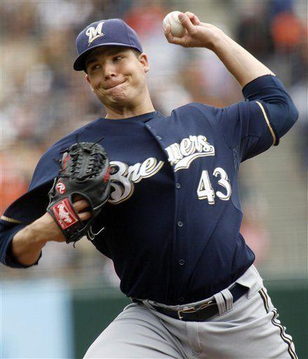 MLB: Cerveceros 7, Gigantes 4; Braun batea jonrón de 3 carreras