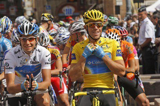 Evans cae en novena etapa del Tour de Francia