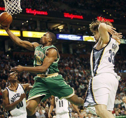 NBA: Celtics 102, Grizzlies 92; Powe anota 30 puntos