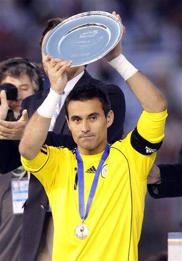 América: Villar elegido mejor arquero del torneo