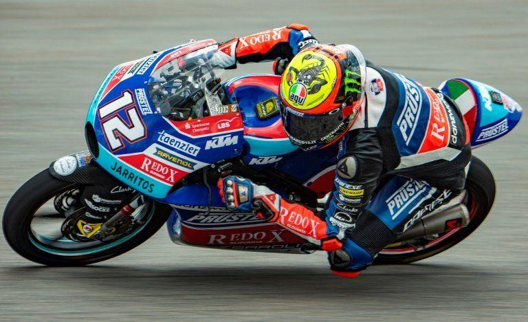Marco Bezzecchi logra la pole, con Martín segundo, en Moto3 del GP de Austria