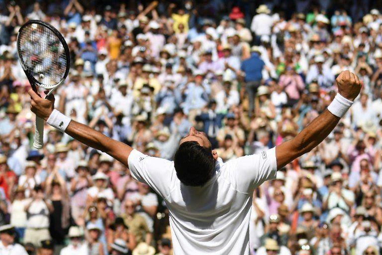 Djokovic acaba su travesía del desierto con su cuarto Wimbledon